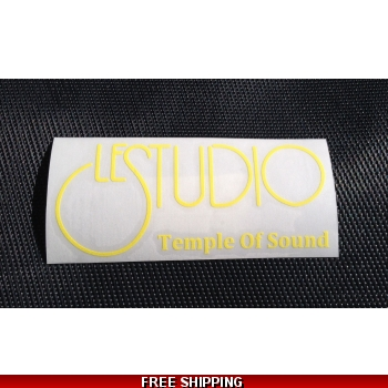 Le Studio Yellow Decals..
