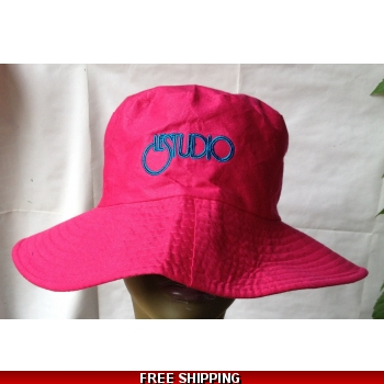 Pink Fisherman Hat Blac..