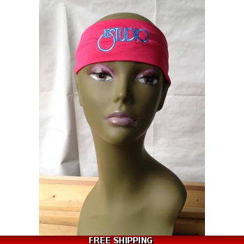 Hot Pink Unisex Headban..