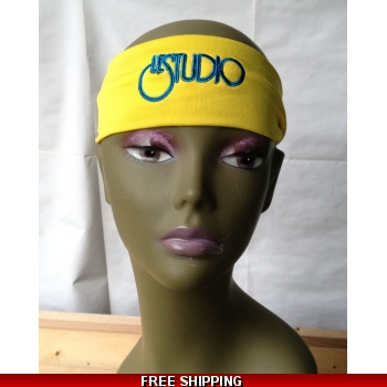 Yellow Unisex Headband ..