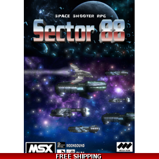 Sector 88 DIGITAL VERSION MSX2 space s..