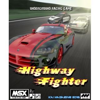 Highway Fighter CARTRIDGE VERSION MSX2..