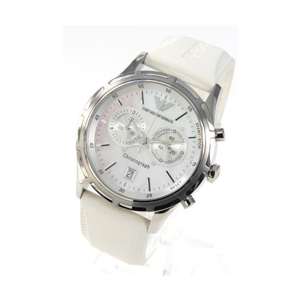 uusin klassinen tyyli koko 7 Emporio Armani AR5848 Mens White Sports Designer Watch