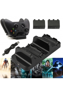 Xbox One Dual Controller Charger Dock Charging S..