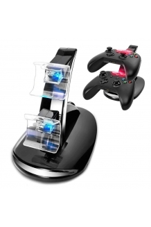 Dual Led Fast Charging Dock Station Charger For ..