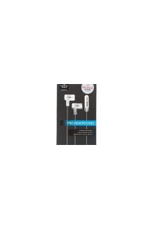 Sharper Image Pro Ear Buds HD Sound In Ear Noise..