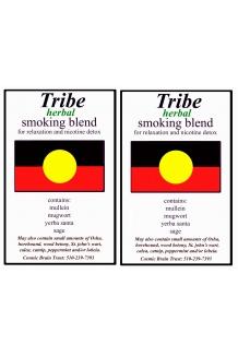 Natural herbal smoking blend