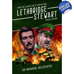 The Brigadier: Declassified and the Lethbridge-Stewart Quiz book
