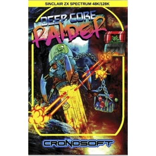 DEEP CORE RAIDER Sinclair ZX Spectrum ..