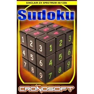 SUDOKU  - ZX Spectrum 48K cassette