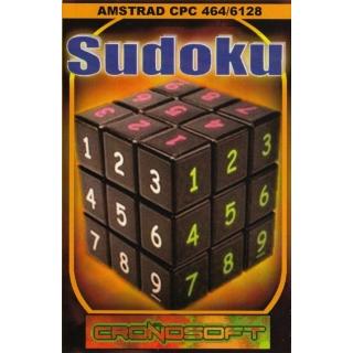 SUDOKU  - Amstrad CPC 464 cassette