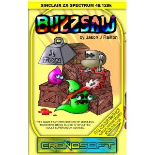 BUZZSAW - Sinclair ZX Spectrum cassette