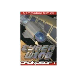 CYBER WING - Commodore 64 cassette