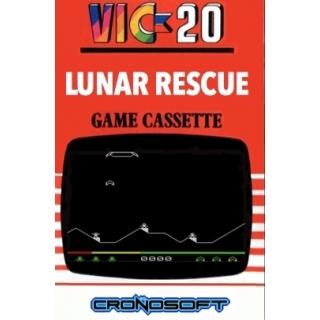 LUNAR RESCUE - VIC 20 unexpanded CASSE..