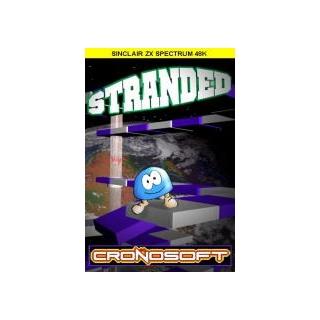 STRANDED - Spectrum 48K cassette