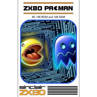ZX80 & ZX81 PACMAN cassette