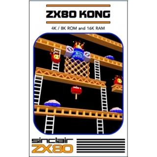 ZX80 & ZX81 KONG cassette