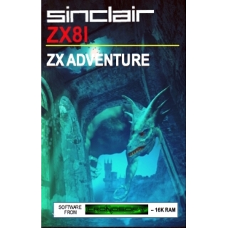 ZX ADVENTURE - Sinclair ZX81 16K RAM, ..