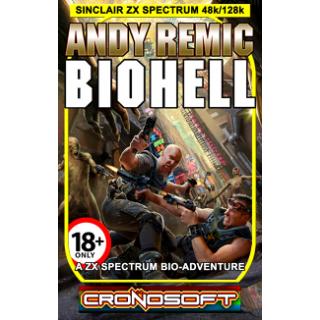 BIOHELL - ZX Spectrum 48K cassette
