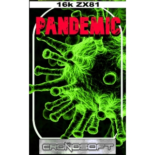 PANDEMIC - (Virus II) - Sinclair ZX81 ..