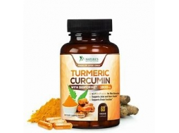 Turmeric Curcumin 95% Curcuminoids with BioPerine and Ginger