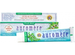 Auromere Ayurvedic Herbal Toothpaste, Fresh Mint