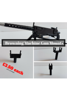 Reproduction Gun Mounts for Browning Machine Gun