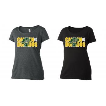 Double Dorado Scoop Neck T-shirt