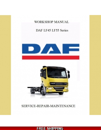 Daf Truck Lf Series Lf45 Lf55 Digital Workshop Service Manual