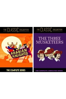 Arabian Knights and The Three Musketeers 2 Pack DVD Combo - The Complete Studi..