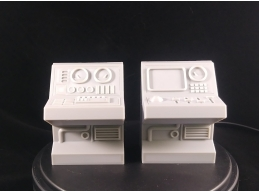 BASE MINI CONSOLE, 2-PACK 1:18 SCALE