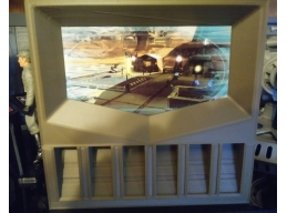 OUTPOST MONITOR_ COMES WITH 2 INSERTS FEATURING 4 DIFFERENT SCENES FOR OPTIMAL DIORAMA SCENES, YOU..