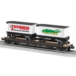 2020 LIRR Flatcar with Trailers