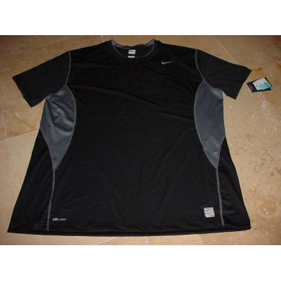 progenie pequeño temperamento  Nike Pro Combat Dri-Fit Compression Shirt Black Gray 4XL