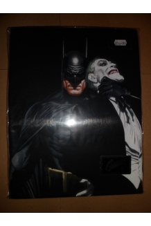 Batman/Joker Choke Alex Ross T-shirt