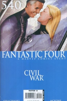 Fantastic Four Civil War