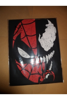 Spidey/Venom Half Face T-shirt