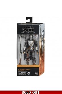 STAR WARS BLACK SERIES THE MANDALORIAN 6IN AF