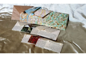 Handmade envelopes, 12