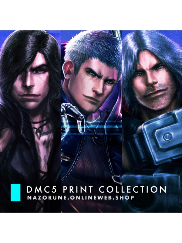 Devil May Cry 5 Print Collection