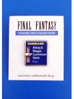 Final Fantasy Enamel Pin [Command]