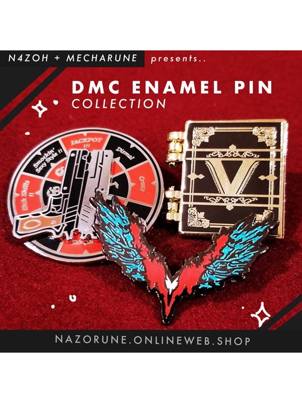 DMC Enamel Pin