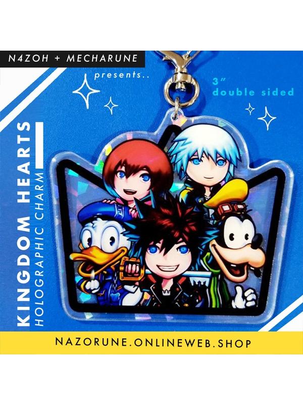 Kingdom Hearts HOLO charm