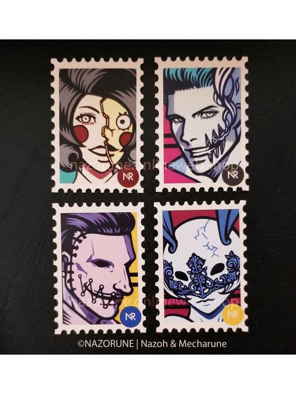 Mascot Sticker Set