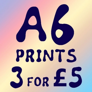 A6 Prints Bundle - 3 fo..
