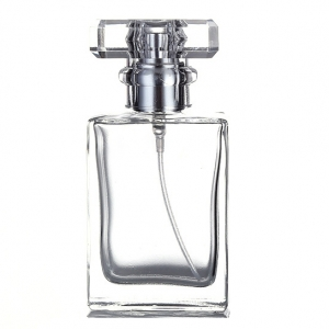 CLEAR GLASS Perfume Bottle Atomizer