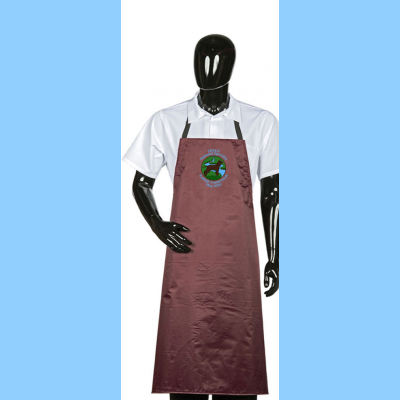 Waterproof Dog Washing Apron with River logo