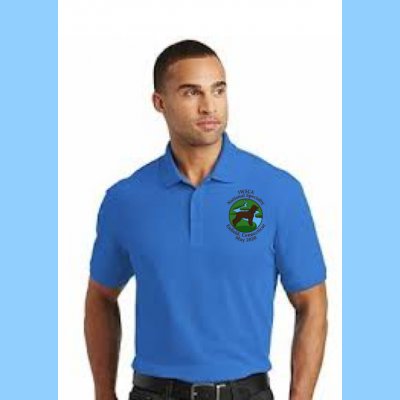 Pique Polo Mens Embroidered with Small River Logo