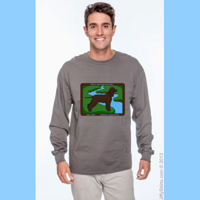 Unisex Long-sleeve T-shirt with Large River Logo