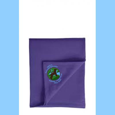 Fleece Sweatshirt Blanket Embroidered with Small River Logo